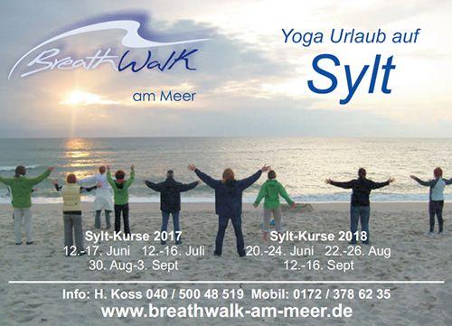 Infokarte BreathWalk am Meer