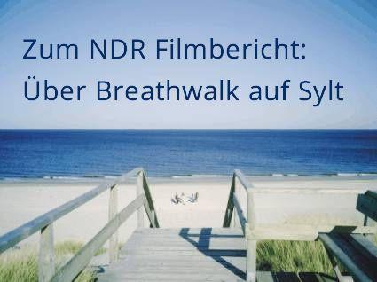 Breathwalk beim NDR, mit Helga Koss