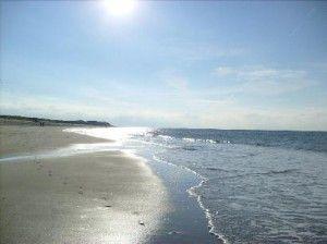 Strand auf Sylt Yoga
